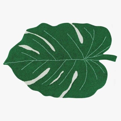 Lorena Canals Monstera Leaf Rug - Green