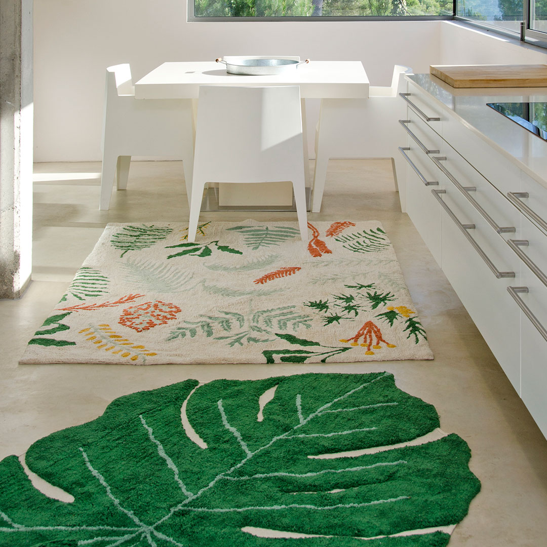 Monstera Leaf Rug By Lorena Canals