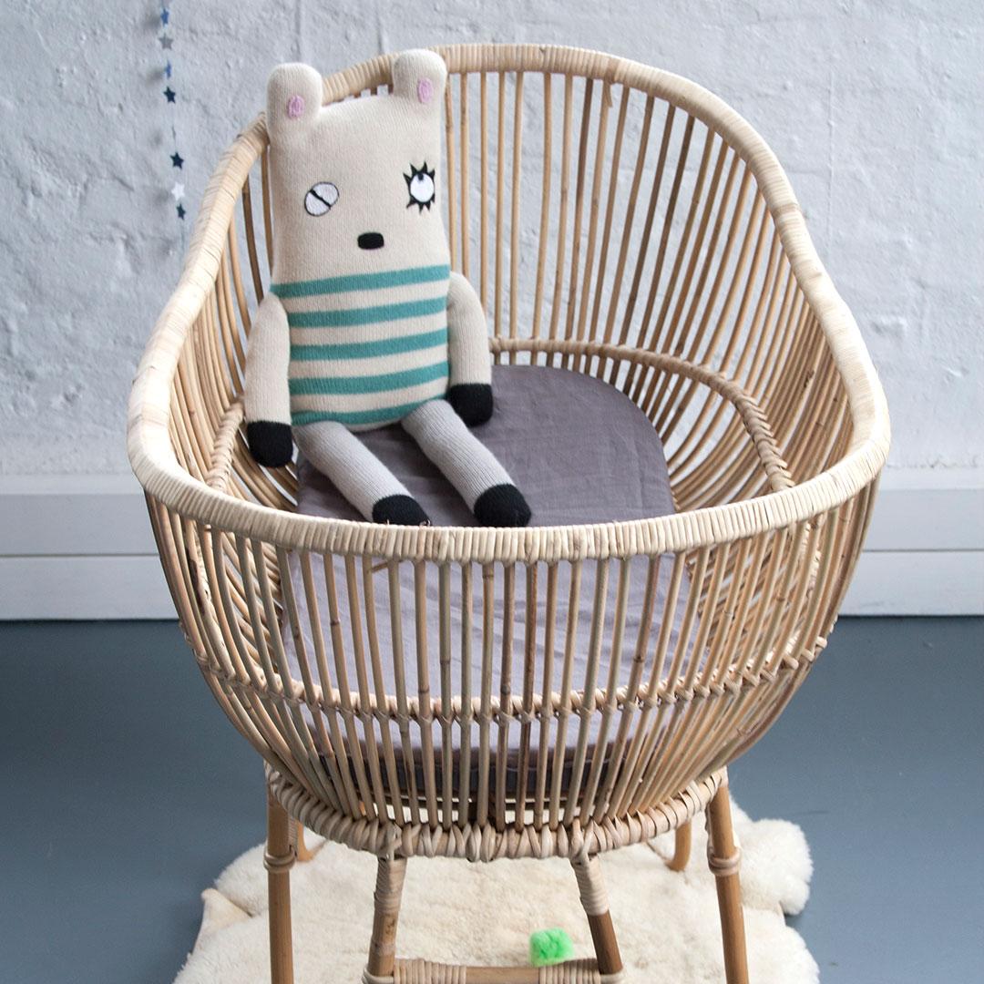 Baby cribs co za - Rattan Baby Crib Rattan Baby Crib