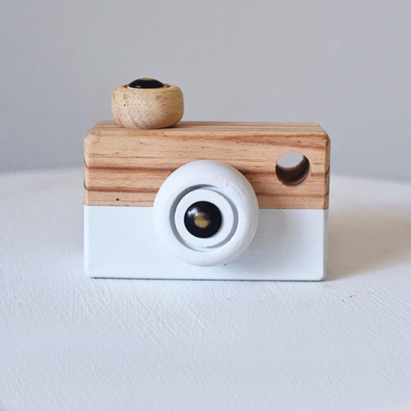 Wooden Play Camera Toy