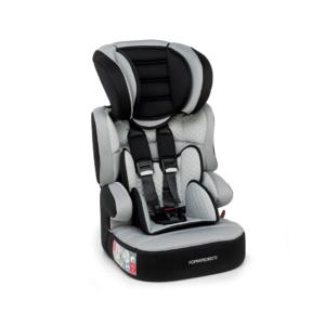 Carbon Babyroad Car Seat - Grey & Black