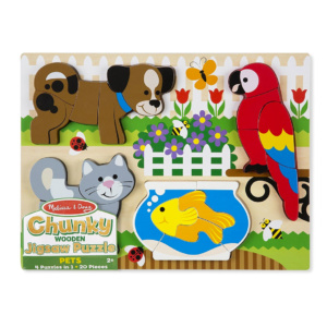 Jigsaw Chunky Puzzle Pets