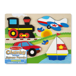 Jigsaw Chunky Puzzle Vehicles