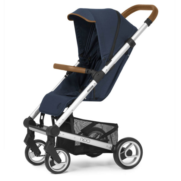 BV Nexo Buggy Incl Seat & Canopy - Blue & Grey