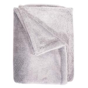 Fleece blanket grey
