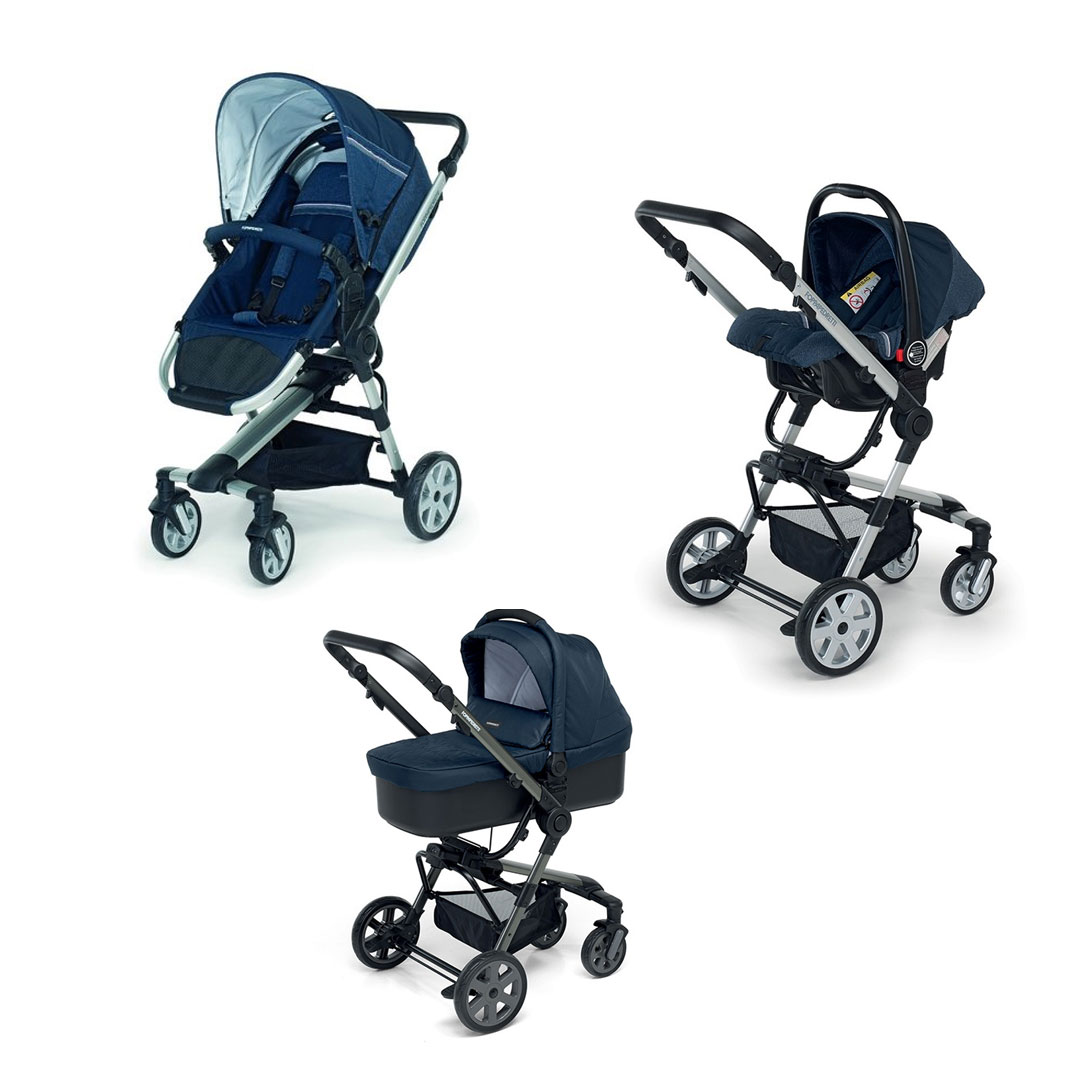 Supertres Travel System - Jeans Blue