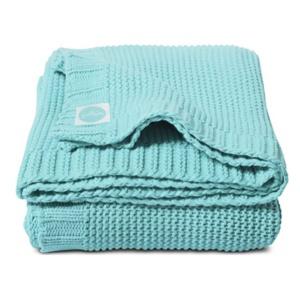 Chunky Knit Aqua 75x100