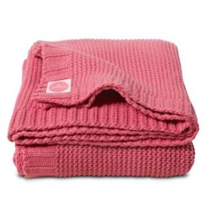 Chunky Knit Raspberry 75x100