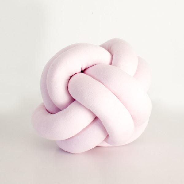 Light Pink Knot Cushion