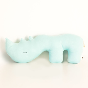 Duke the Rhino Scatter Pillow