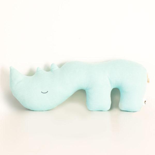 Duke the Rhino Scatter Pillow
