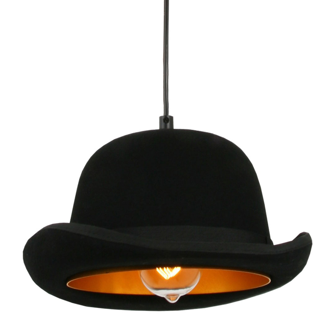 Round Top Hat Pendant Light