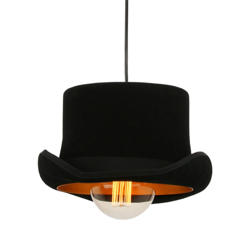 Square Top Hat Pendant Light