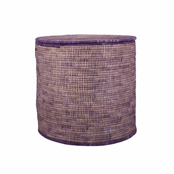 Purple Storage Basket- med