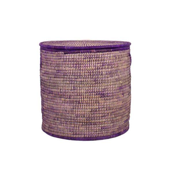 Purple Storage basket