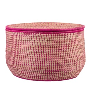 Pink Storage Basket - Large