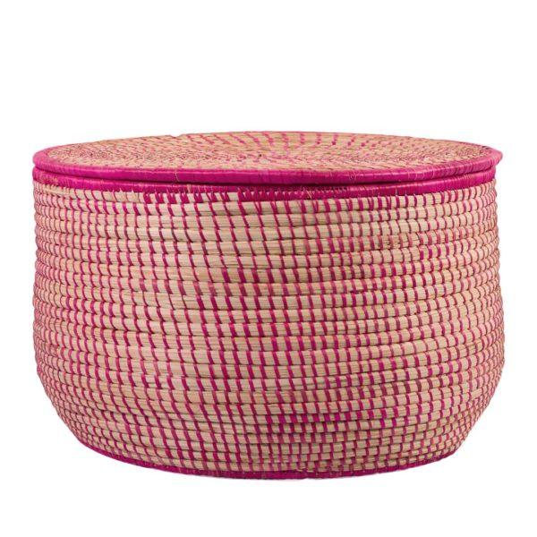 Pink Storage Basket - Large