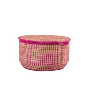 Pink Manus Storage Basket - Small