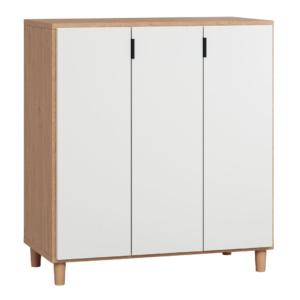 Vox Simple Cupboard - Oak & White