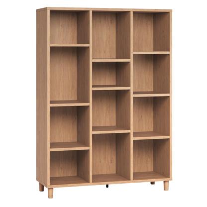 Vox Simple Low Bookcase - Oak