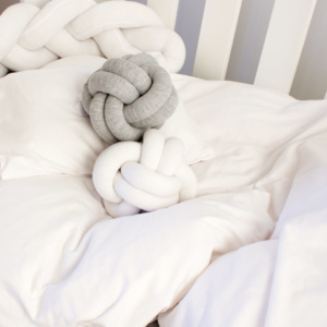 White T Shirt Cot Bedding