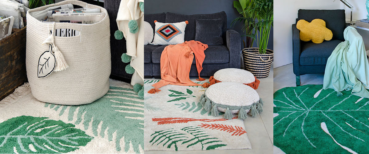 LC greenery rugs