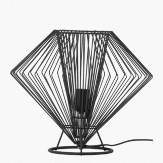 Vox Cesto Low Table Lamp - Black
