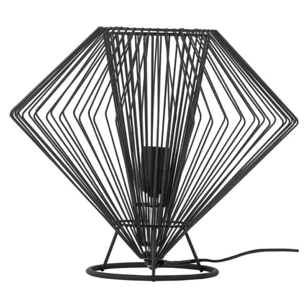 Cesto Low Table Lamp - Black