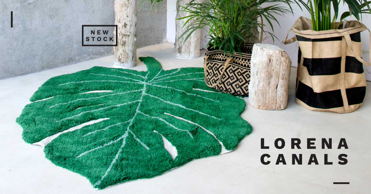 New Lorena Canals rugs