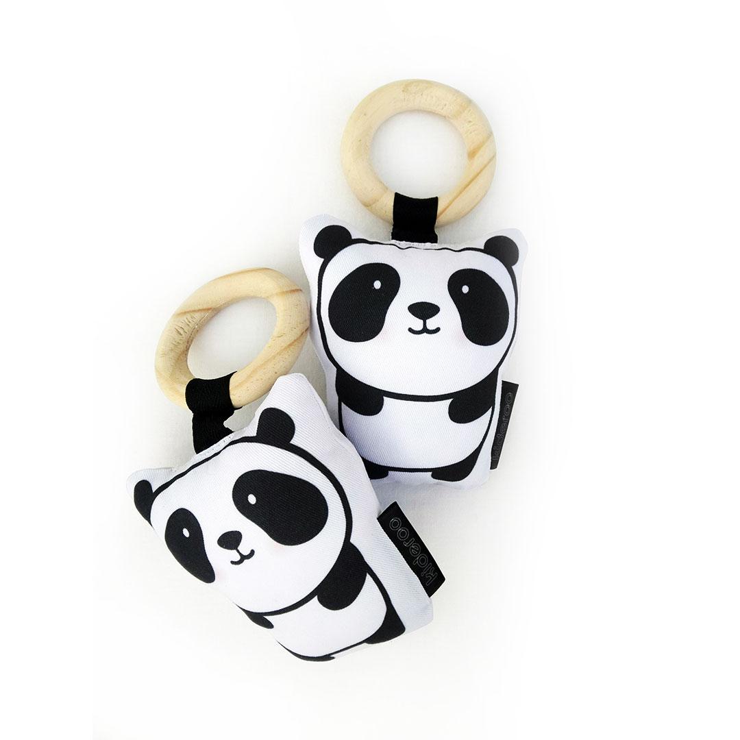 Panda Plush Baby Rattle