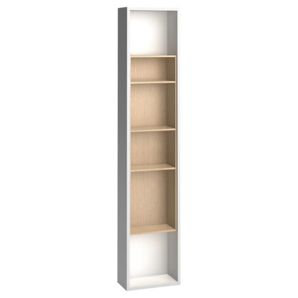4You Tall Side Wall Bookcase