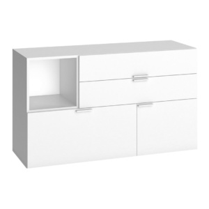Vox 4You Low Chest of Drawers - White