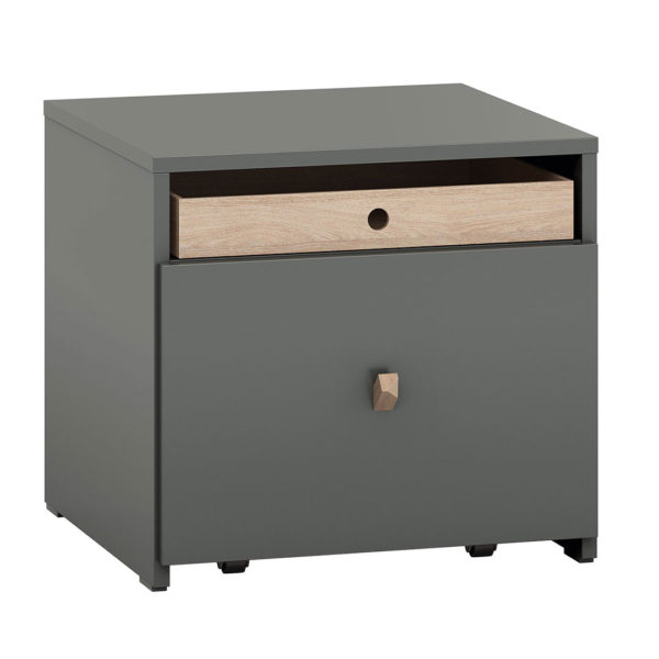 Vox Lori Nightstand with Drawer