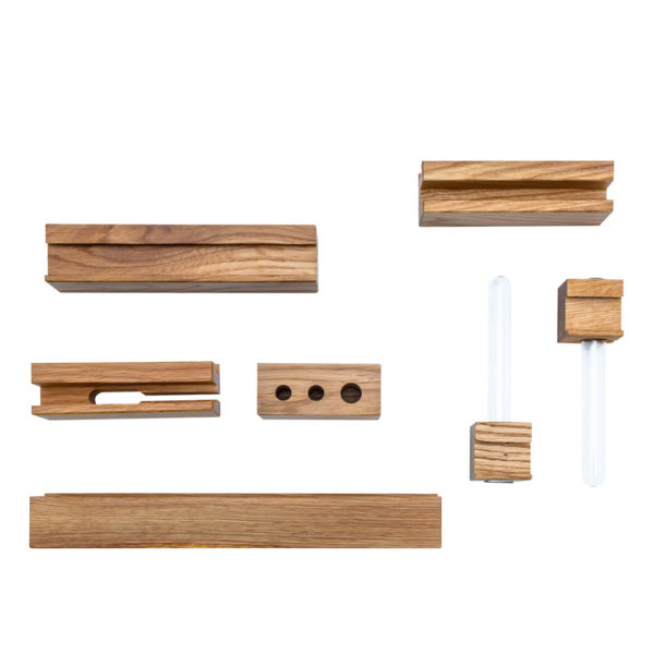 Vox Set of Accessories for Dresser with Functional Slat