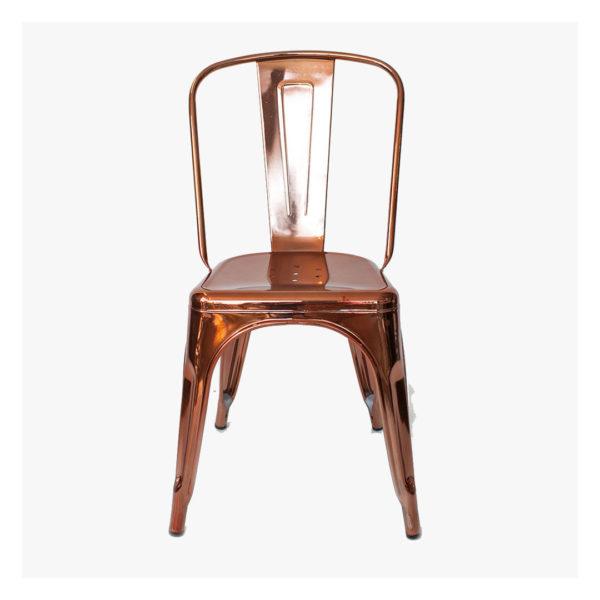 Replica Tolix Chair Metallic - Copper