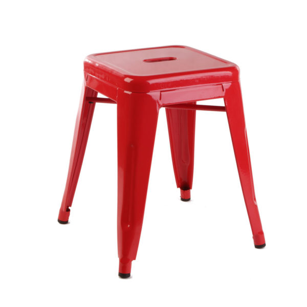 Replica Tolix Low Stool - Red