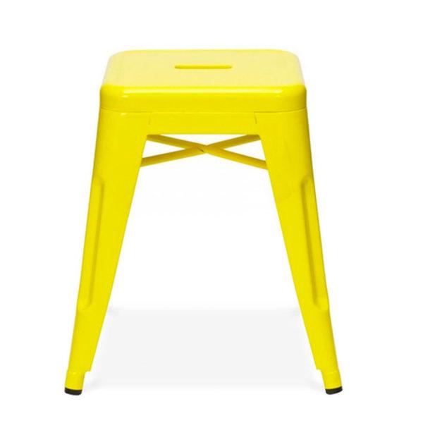 Replica Tolix Low Stool - Yellow