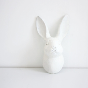 Ceramic Bunny wall hanging