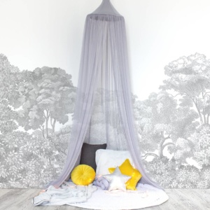 Hanging Tent Canopy - Netting - Grey