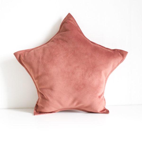 Velvet Star Scatter - Dusty Pink