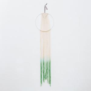 Modern Macrame Wall Hanging - Emerald