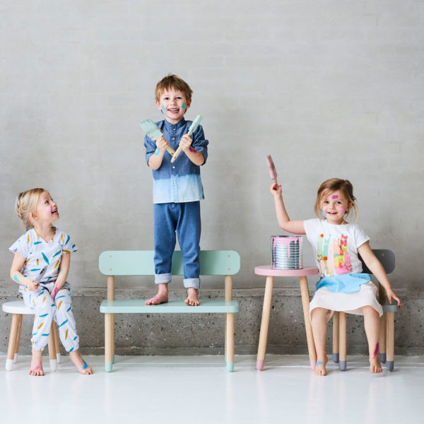 Flexa Play Chairs and Play Side Table
