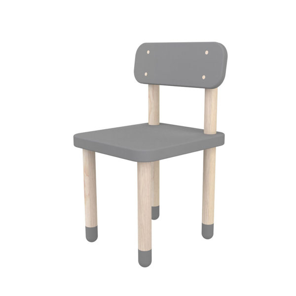 Flexa Play High Back Chair Grey