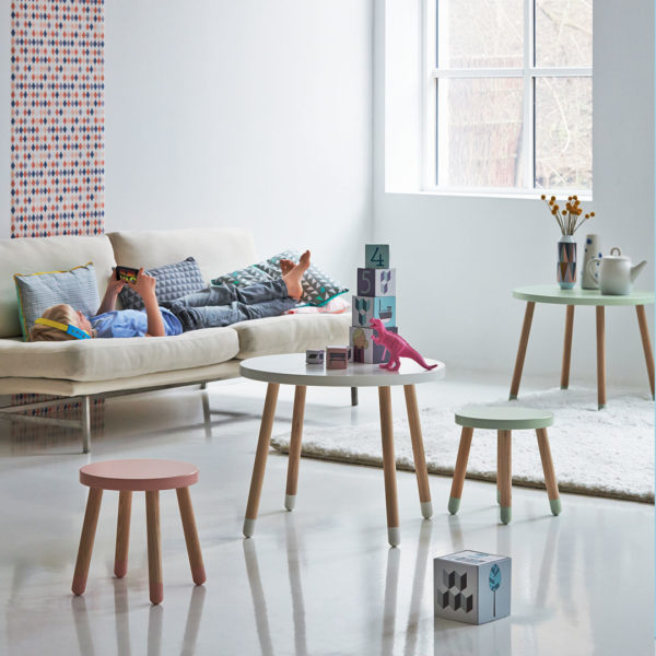 Flexa Play Table & Play Stool