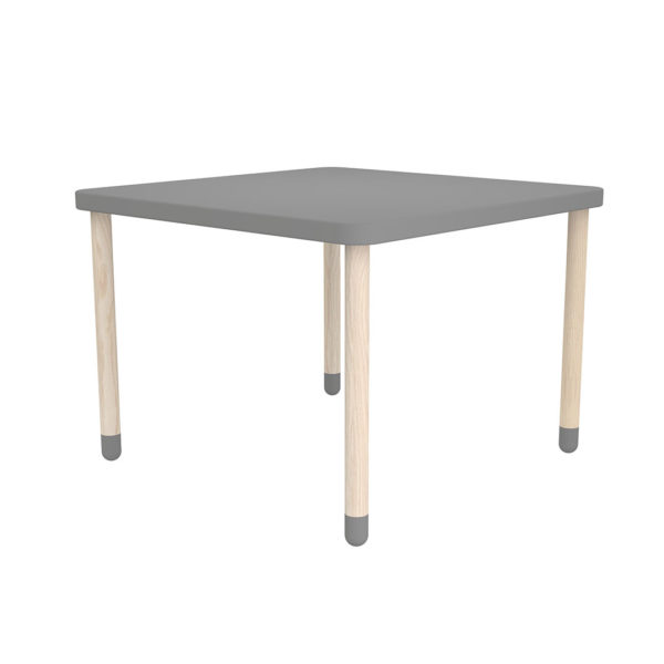 Play Square Table Grey