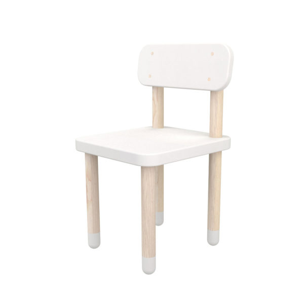 Flexa Play High Back Chair White