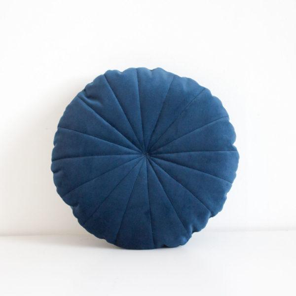 Velvet Circle Scatter Midnight Blue
