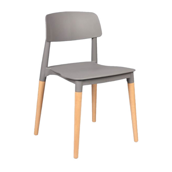 Stacking Chair - Grey