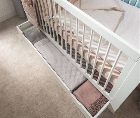 Milk Convertible Cot Bed With Storage For A Small Space