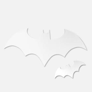 Batman Mirrors - Set of 2